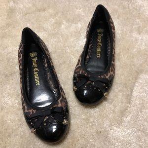 Juicy Couture leopard print flats
